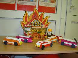 Пожарная машина Конспект занятия по конструированию из бумаги   Пожарная машина Конспект занятия по конструированию из бумаги