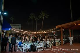 Market Lights at Point Loma Oceanview Wedding
