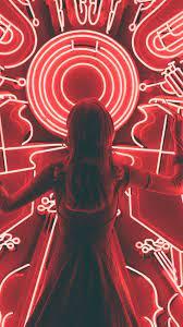 Light Neon Girl Wallpapers - Wallpaper Cave