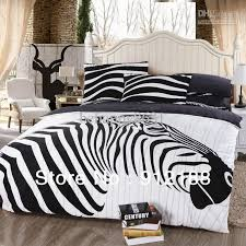 twin comforter sets for s exquisite hot black zebra bedding popular bed cover cotton