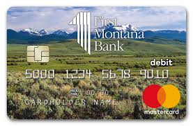 all first montana bank mastercard debit cards now include the added security of chip technology