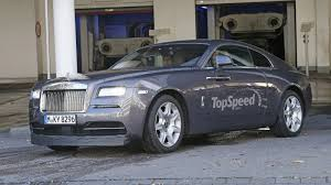2016 Rolls Royce Wraith Sport Review - Top Speed