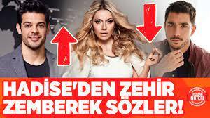 Mehmet Dinçerler In Kaan Yıldırım Out!! Hadise'den Kaan Yıldırım'a Zehir  Zemberek Sözler!! - YouTube