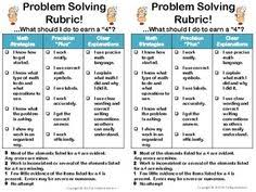 steps to problem solving in math google search problem solving math problem solving rubric standards for mathematical practice