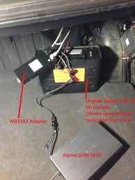 how to add a good alpine 6 cd changer to your becker 1432 out see next post as this one is getting loooong