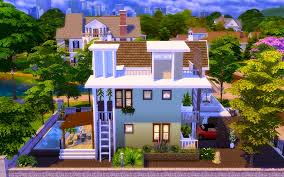 Small Picture The Sims 4 Contemporary Modern House Homeless Sims