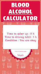 Bac Calculator Chart Blood Alcohol Calculator