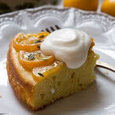 Sonoma County Olive Oil & Meyer Lemon Cake