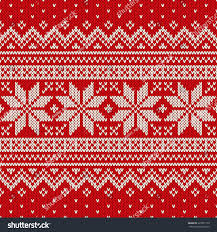 Christmas Pattern Sweater Awesome Design Inspiration