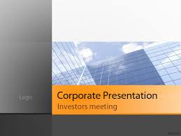 powerpoint company presentation sample corporate presentation company presentation ppt free download