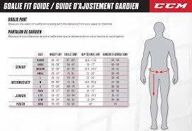 Bauer Hockey Pants Size Chart Hockey Goalie Pants Size Chart