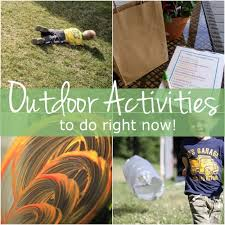 outdoor activities for kids. 10 Simple Outdoor Activities For Kids To Do Right Now!