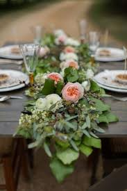 table garland. luxurious wedding table garlands garland