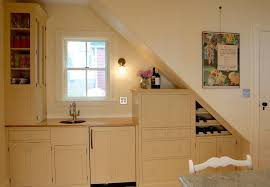 Remodeled kitchen pantry under the stairs • french blue cottage. Unbelievable Kitchens Placed Under The Stairs That You Should See Today Look Fabulous Decoratorist