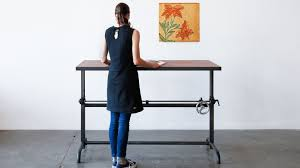 Home office standing desk Workstation Standing Desk By Ohio Design Carla Aston How To Stylishly Design Standing Desk Into Your Home Office Designed