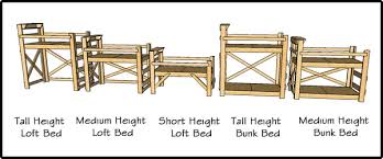 build a loft bed or bunk bed