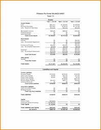 Financial Statement Worksheet Template Unique Free Personal