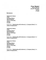Refrences On Resume Reference Resume Mail Format Earpod Co