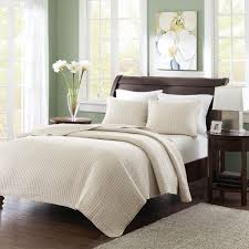 madison park keaton twin twin xl size quilt bedding set ivory quilted 2 piece bedding quilt coverlets ultra soft microfiber bed quilts quilted