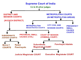 Indian Jurisdiction Chart Hierarchy Of Criminal Courts Jurisdiction Notes For Free