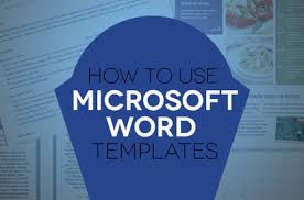Ms Word Page Designs How To Use Document Templates In Microsoft Word Digital Trends