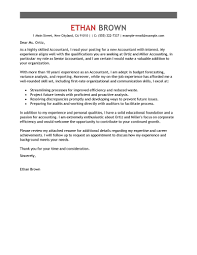 Leading Professional Accounting Assistant Cover Letter Examples