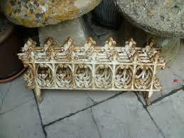 vintage cast iron garden railings