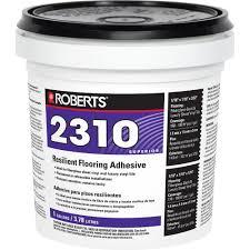 premium fiberglass and luxury vinyl tile glue adhesive 2310 1 the home depot