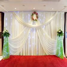 10x10ft white wedding backdrop curtain wedding birthday party