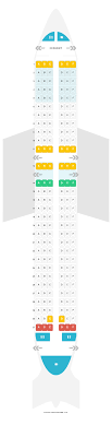 Airbus A320neo Seating Chart Seat Map Airbus A320 200 320 Airasia Find The Best Seats