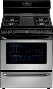 stove kenmore. kenmore 22-73033 4.3 cu. ft. gas range - stainless the stove