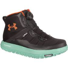under armour fat tire boots. under armour fat tire gtx with teal outsole and midsole boots d