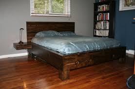 diy king bed frame. Easy DIY King Size Bed Frame Diy