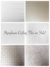 Captivating Styrofoam Ceiling Tiles On Sale, Decorative Ceiling Tiles Sale