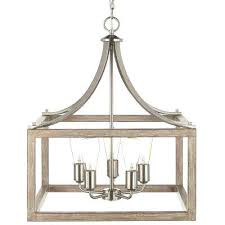 impressive 5 light brushed nickel chandelier with painted weathered gray wood dsi 7 light led chandelier staggering 7 light chandelier