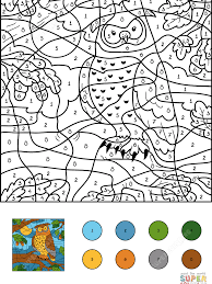 Archaicawful Color By Number Online Adult Coloring For Adults