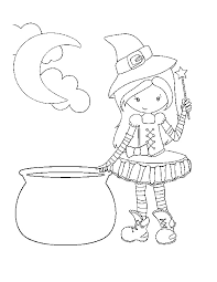 Cute Halloween Coloring Pages Printable At Getcoloringscom Free