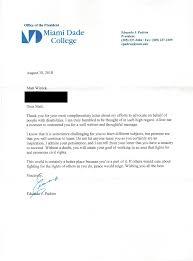 Mattsletters: President Eduardo Padron of Miami Dade College