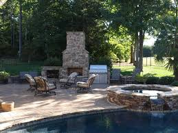 outdoor rock fireplace outdoor fireplace project you with tv michigan stone installation landscaping contractor michigan outdoor