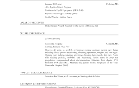 Cna Job Description For Resume - Best Resume Templates