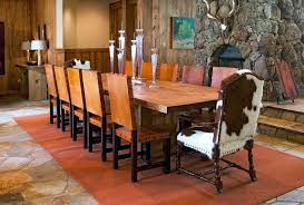 cow hide dining chairs cowhide dining chairs dining room rustic with oversized dining table long dining cow hide dining chairs leather cowhide