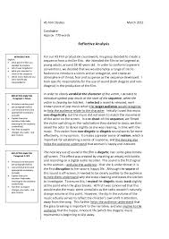 evaluative essay example page zoom in essay article  reflection and evaluation essay on a movie image 6 evaluative essay example