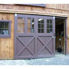 barn doors sliding door with glass for garage and on bar 1350x1350px