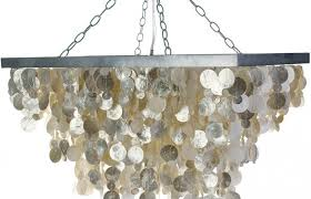 kitchen decoration medium size capiz chandelier rectangular in champagne colored s shell chandelier west elm hanging
