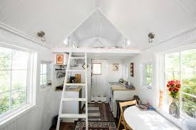 tiny houses in maryland. Renee And Greg Cantori Of Pasadena, Maryland, Own A Light-filled 238-square-foot House With Room For Queen-size Bed In The Loft. Tiny Houses Maryland Y