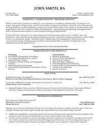 program assistant sample resume Human Resource Manager Resume Samples  Visualcv With 23 Captivating .