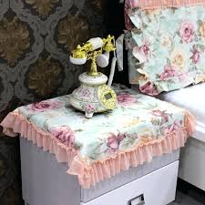 side table cover get ations a bedside table cloth cover towel past cover lace fabric dust side table cover duck covers