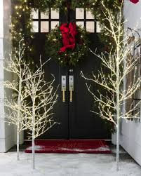 Indoor-Outdoor LED Winter Birch Tree by Balsam Hill