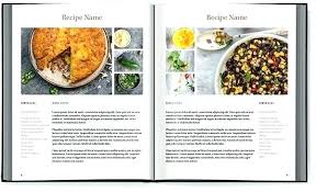 Homemade Cookbook Template Cookbook Recipe Template