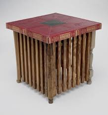 recycled paper furniture. coffee table made of reclaimed wood and recycled books paper furniture e